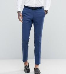 Noose & Monkey Super Skinny Suit Trousers - Blue