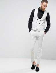 Noose & Monkey Super Skinny Suit Trousers - Grey