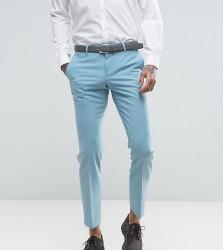 Noose & Monkey Super Skinny Wedding Suit Trousers - Blue