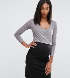 Noppies Maternity Nursing 2 In 1 Metallic Bodice Dress - Multi