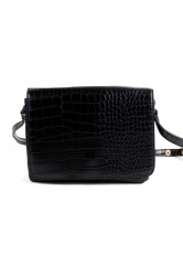 Norr By Erbs - Taske - Louisa - Snake - Crossbody - Black