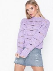 NORR Chase knit top Strikkede trøjer