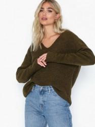 NORR Elisha knit top Strikkede trøjer