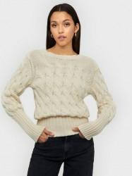 NORR Emeri knit top Strikkede trøjer