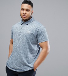 North 56.4 SPORT Polo With Cool Effect and Zip Fastening - Blue