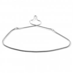 Northern Jewelry Slipsekæde med Slangemønster