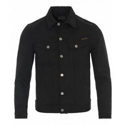 Nudie Jeans Billy Jeans Jacket Dry Black Denim