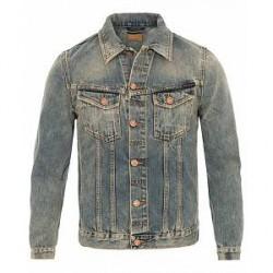 Nudie Jeans Billy Jeans Jacket Shimmering Indigo