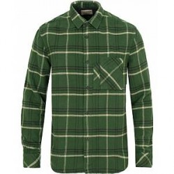 Nudie Jeans Calle Flannel Canadian Check Shirt Grass