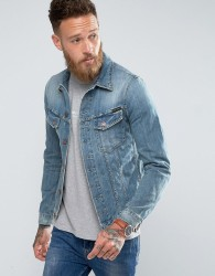 Nudie Jeans Co Billy Denim Jacket Light Shades - Blue