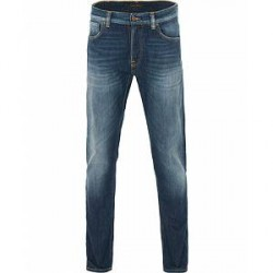 Nudie Jeans Dude Dan Organic Slim Fit Jeans Blue Ridge