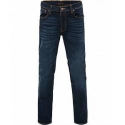 Nudie Jeans Dude Dan Organic Slim Fit Jeans Dark Deep Worn