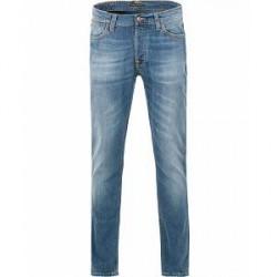 Nudie Jeans Dude Dan Organic Slim Fit Stretch Jeans Highlights