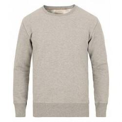 Nudie Jeans Evert Light Sweatshirt Grey Melange