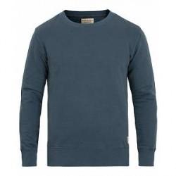 Nudie Jeans Evert Light Sweatshirt Royal Ash