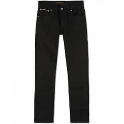 Nudie Jeans Grim Tim Organic Jeans Dry Black Comfort Selvedge