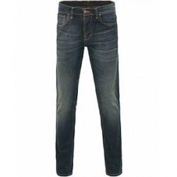 Nudie Jeans Grim Tim Organic Slim Fit Jeans Dark Dreams