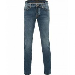 Nudie Jeans Grim Tim Organic Slim Fit Stretch Jeans Blue Halo