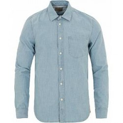 Nudie Jeans Henry Chambray Shirt Indigo