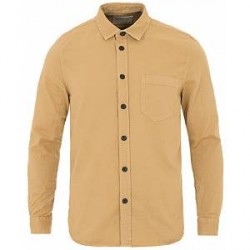 Nudie Jeans Henry Pigment Dyed Shirt Beige