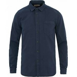 Nudie Jeans Henry Pigment Dyed Shirt Midnight