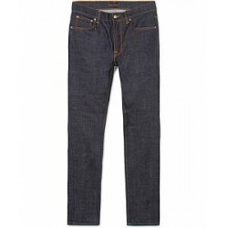 Nudie Jeans Lean Dean Organic Jeans Aqua Marine