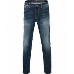 Nudie Jeans Lean Dean Organic Slim Fit Jeans Blue Ridge