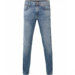 Nudie Jeans Lean Dean Organic Slim Fit Jeans Indigo Spirit