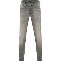 Nudie Jeans Lean Dean Organic Slim Fit Stretch Jeans Grey Ace