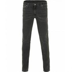 Nudie Jeans Skinny Lean Organic Slim Fit Jeans Black Seas