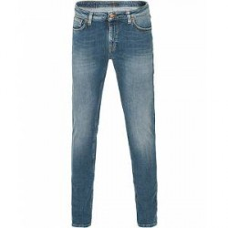 Nudie Jeans Skinny Lean Organic Slim Fit Jeans Celestial