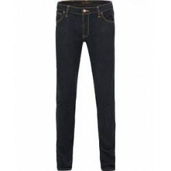 Nudie Jeans Skinny Lin Organic Slim Fit Stretch Jeans Deep O