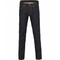 Nudie Jeans Tilted Tor Organic Slim Fit Jeans Dry Pure Navy