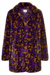 Nümph - Jakke - Etain Fur Jacket - P. Purple