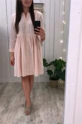 Nümph - Kjole - Chihiro Dress - Hot Coral