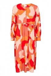 Nümph - Kjole - Darian Dress - Chinese Red