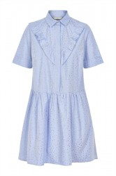 Nümph - Kjole - Jeinlee Dress - Blue Stripe