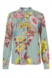 Nümph - Skjorte - New Frayda Shirt - Pine Grove