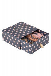 Nümph - Strømper - Brighton 3-Pack Glitter Sock - Zigzag Print