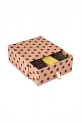 Nümph - Strømper - Kingcity 3-Pack Glitter Socks - Black/Yellow/Brown Glitter