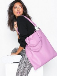 NuNoo Shopper Smooth Håndtaske Bubblegum