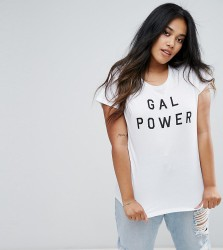 NVME Plus Gal Power T-Shirt - White