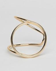 Nylon chunky bracelet - Gold