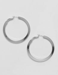 Nylon Hoops - Silver