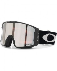Oakley Line Miner Prizm Snow Goggles Black/Black men One size Grå,Sort