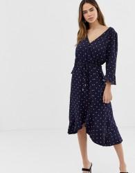 Oasis heart wrap dress - Multi