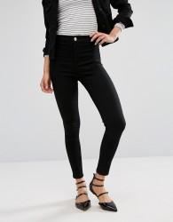 Oasis High Waist Skinny Jean - Black