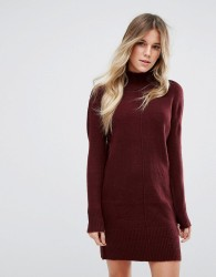 Oasis Jumper Dress - Red