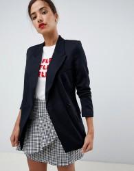 Oasis longline blazer in black - Black