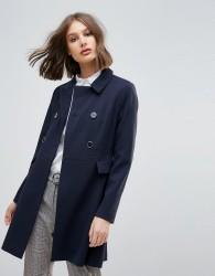 Oasis Swing Coat - Navy